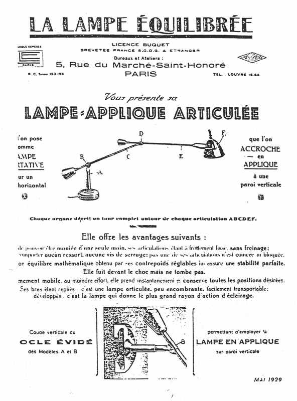 Edouard-Wilfred-Buquet-La-Lampe-Equilibree-EB27 invention