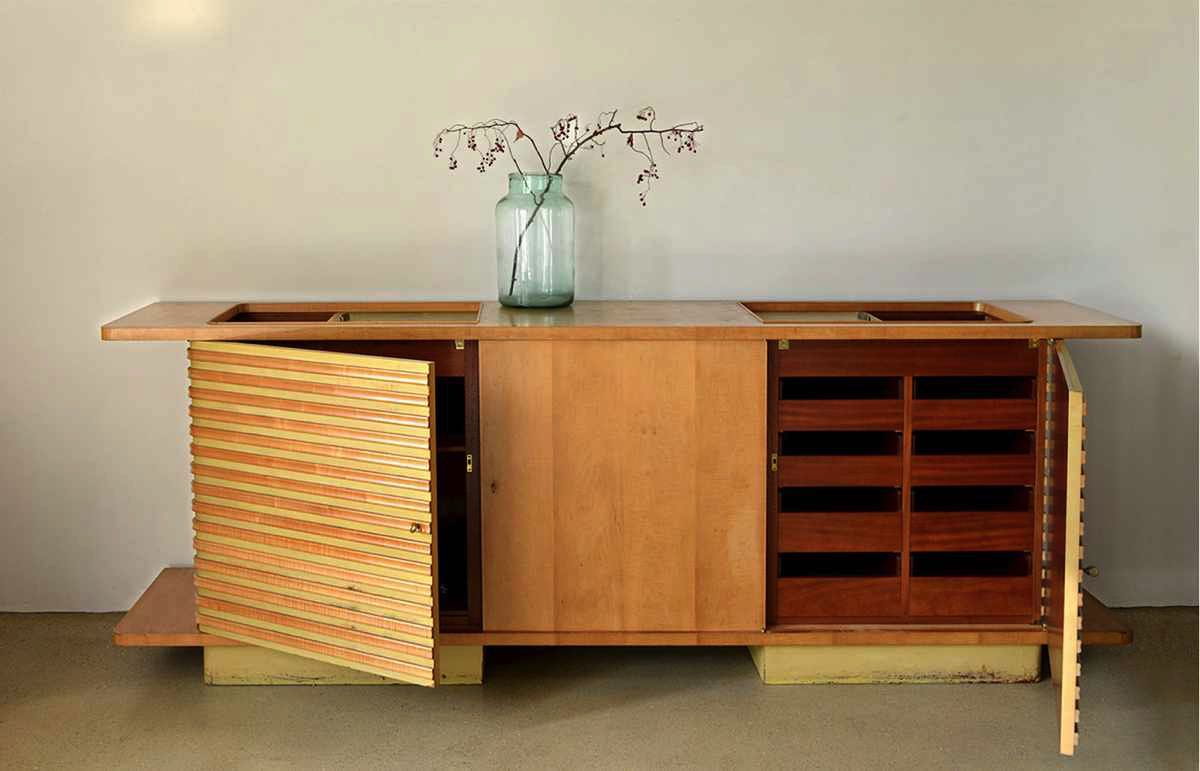 Jaques-Adnet-Sideboard-open