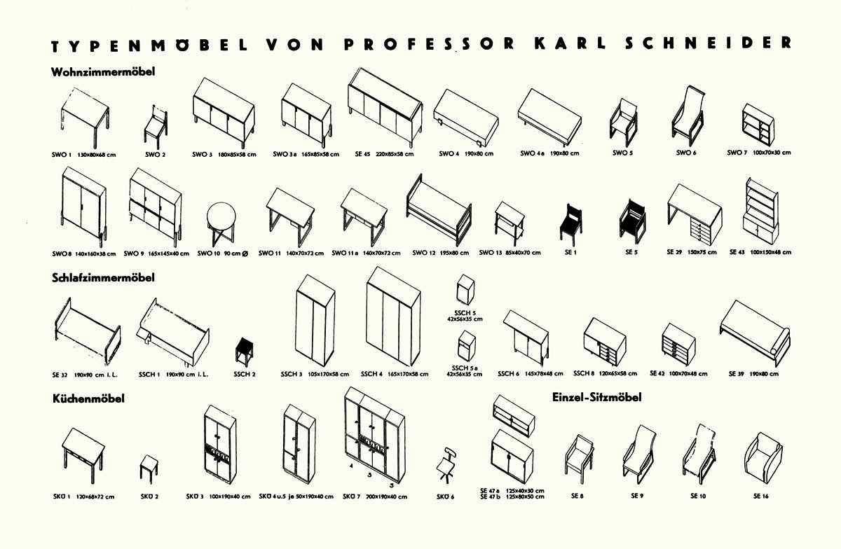 Karl-Schneider-Typenmoebel